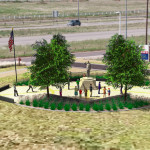 Taya Kyle welcomes Chris Kyle Memorial Plaza in Odessa, Texas