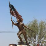 Chris Kyle Memorial Plaza Unveiling in Odessa, TX